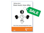 SALE: Talking about how much, how often (pack of ten)