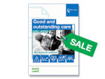 SALE: Good and outstanding care guide: workbook edition